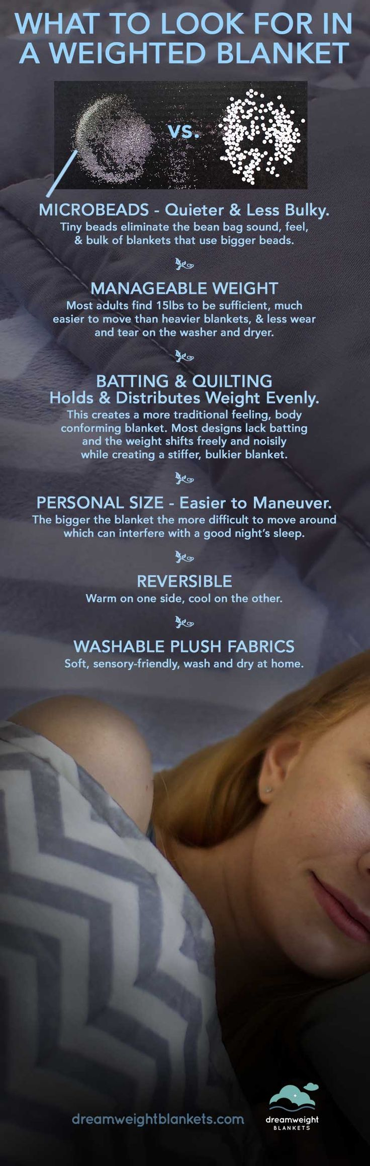 27 best dreamweight blankets adult weighted blankets images on tips for what to look for in the best weighted blanket so you can get the nvjuhfo Image collections