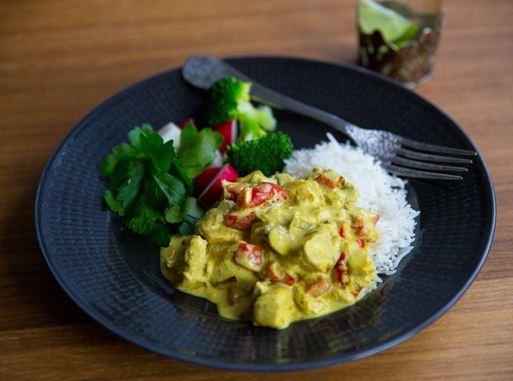 Currygryta med kyckling