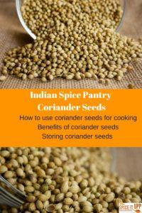 Coriander seeds - Benefits