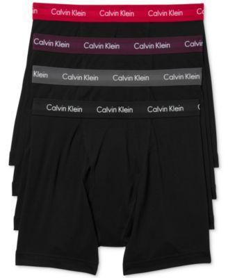 CALVIN KLEIN Calvin Klein Men's 3+1 Bonus Pack Cotton Stretch Boxer Briefs NB1267. #calvinklein #cloth # underwear