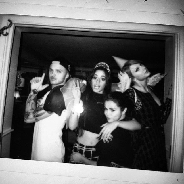 """we love you, camila. @taylorswift @selenagomez @camila_cabello"""
