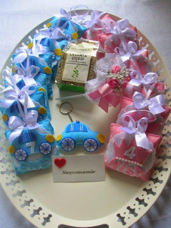 .: Keçe Bebek Şekeri Doğum Günü