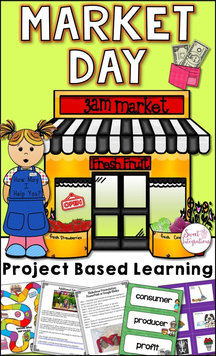 Students can become an entrepreneur by opening their very own business. This PBL unit can be completed individually or in pairs. In this Market Day Project Based Learning unit, students will become familiar with economics vocabulary, and learn about opening a business. $