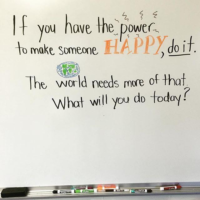 Ready for tomorrow!#miss5thswhiteboard #positivevibes #classroomcommunity…
