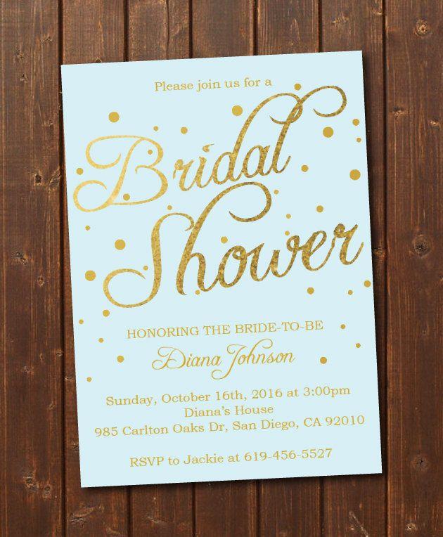 27 best bridal shower images on pinterest bachelorette party printable bridal shower invitationgold confettieditable instant downloadwedding shower template filmwisefo