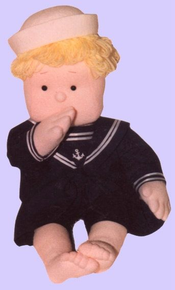 Pdf Soft Cloth Doll - The Sailor Cloth Doll Pattern. OOAK Soft Sculpture Doll. Instruction & Pattern. The Little Sailor. from Rosselladolls on Etsy Studio