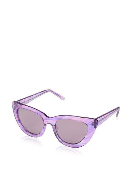 TL-Sunglasses Occhio di gatto Occhiali da sole donne personalità Vintage Occhiali da sole,rosa chiaro