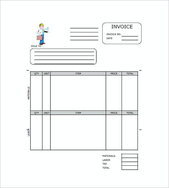 Mer enn 25 bra ideer om Invoice sample på Pinterest Redaksjonell - invoice construction