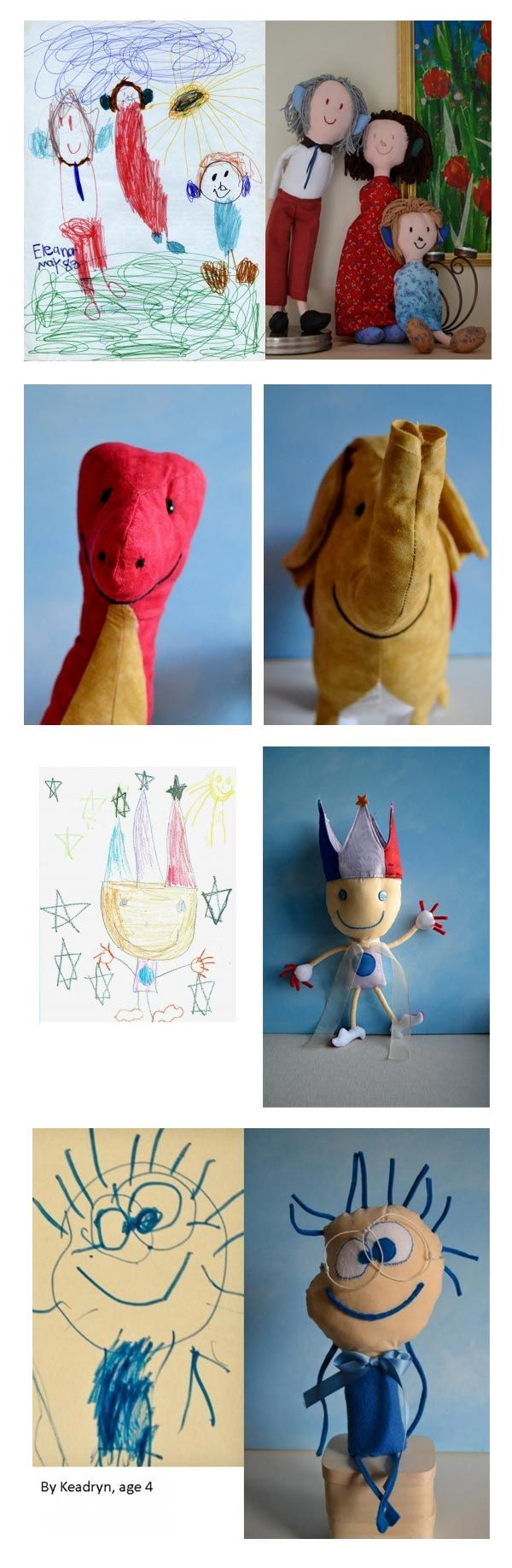 Transforming your child's art >>Super cool!
