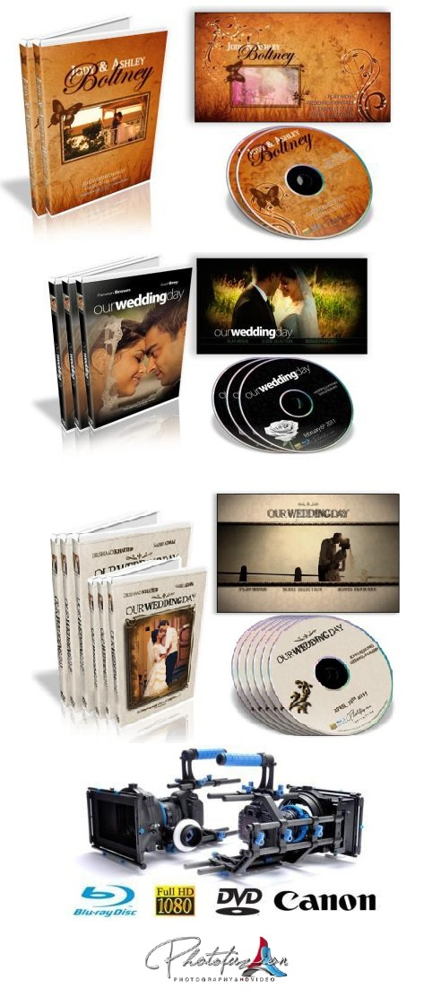Cinematic Wedding Video services in High Definition on Blu-ray Disc, uniquely designed and packaged. visit - www.weddings.photofuzion.co.za