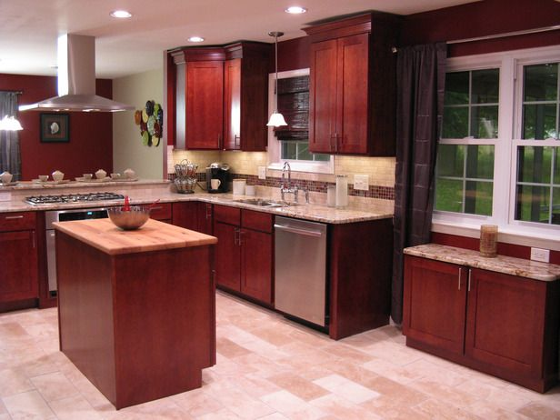 17 Best Images About Kitchen Backsplash Ideas On Pinterest Cherries Dark Wood Kitchens And