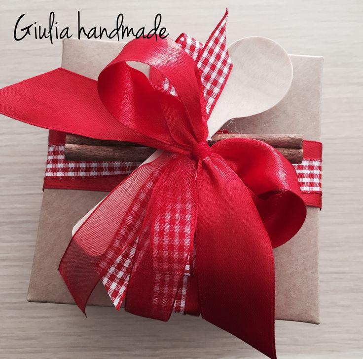 Christmas packaging handmade, fatto a mano, christmas time, present for christmas