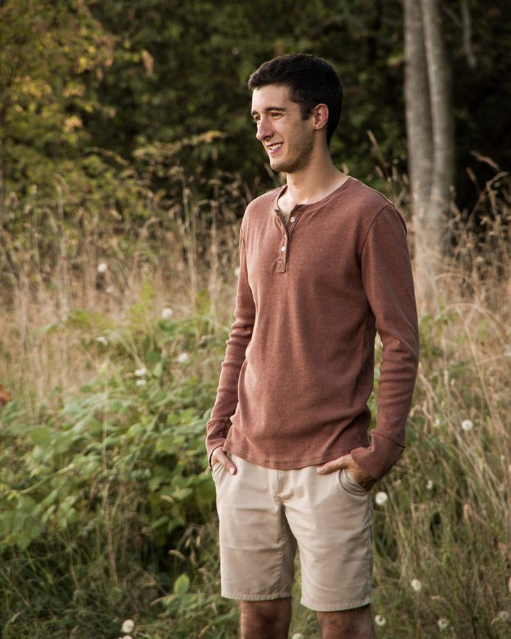Strathcona Henley | Men's Clothing Pattern | Thread Theory Designs