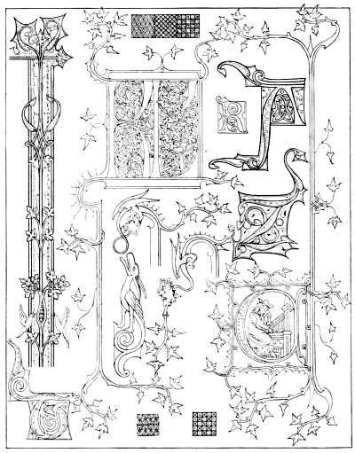 Medieval Alphabet Coloring Pages : Best images about iluminuras caligrafia on pinterest