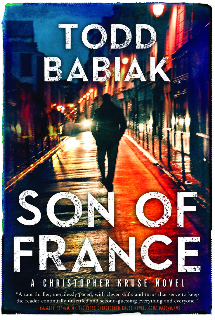 Son of France, by Todd Babiak (HarperCollins) http://www.harpercollins.ca/9781443443821/son-of-france
