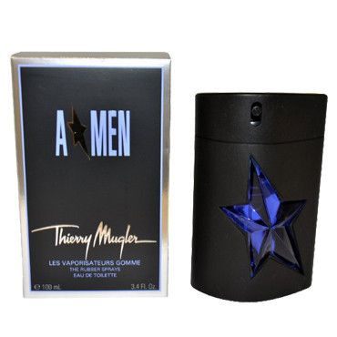 A Men by Thierry Mugler Metal Refillable EDT Spray 3.4 OZ