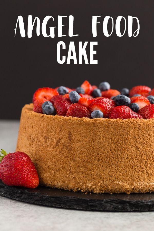 Angel Food Cake Recipe Cake Recipes Angel Food Cake Food