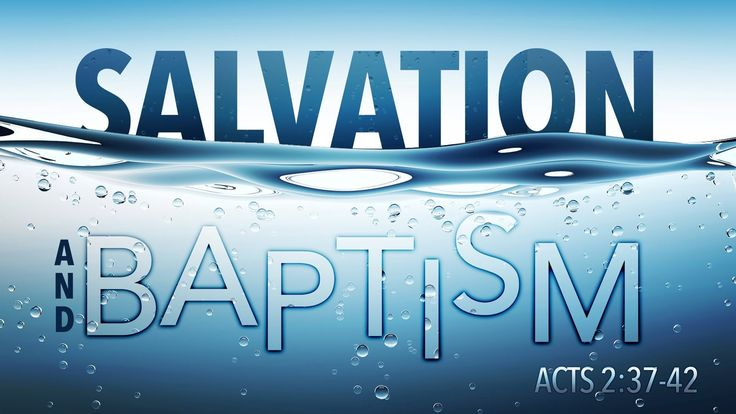 An analysis of baptism in catholic churches today