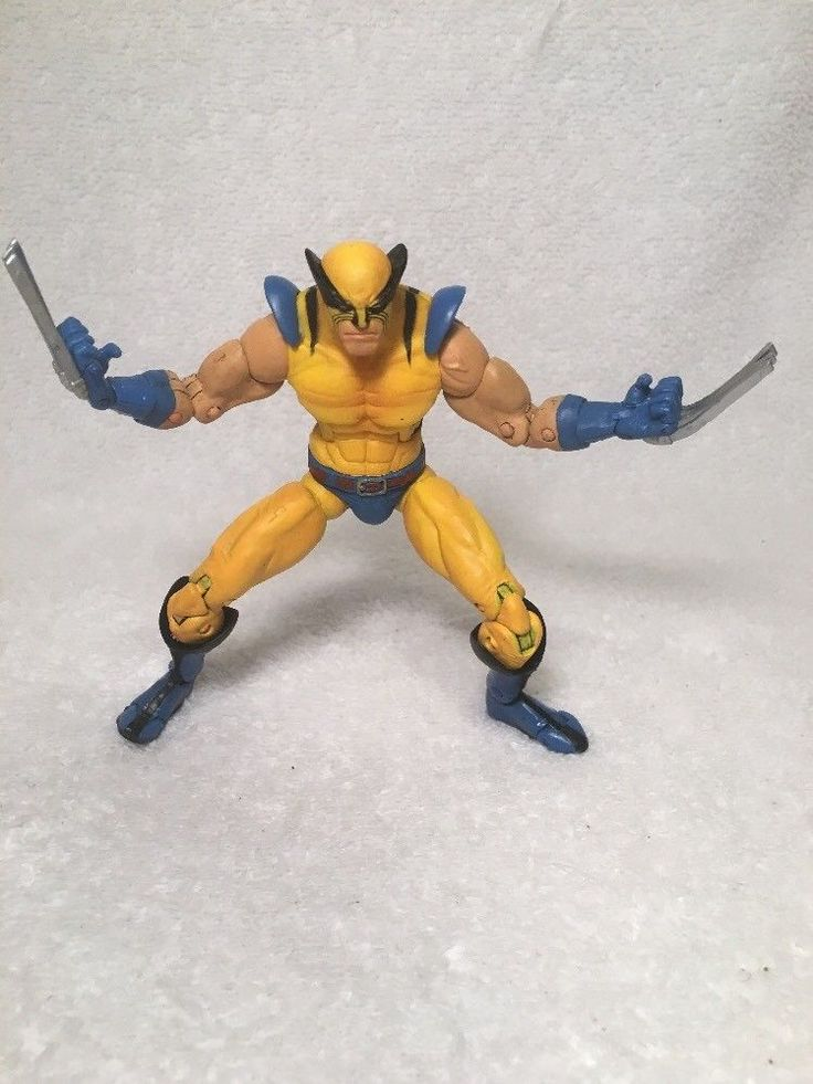 Marvel Legends Faceoff 1st Appearance Wolverine FACE OFF tight Joints