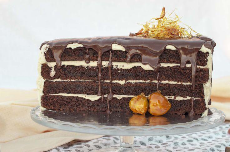 an anatomy studyour first chestnut chocolate cake