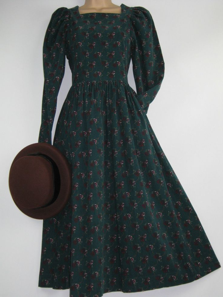 EBAY..........Laura Ashley corduroy dress