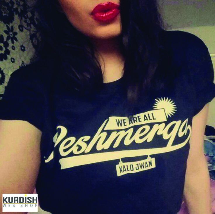 Supporting Peshmerga and classy. We Are All Peshmerga Shirt | Order now! http://bit.ly/1AxMtlO