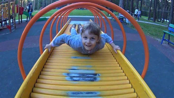 Развлечения для детей Парк развлечений Горки, батуты, карусели Fun for k...