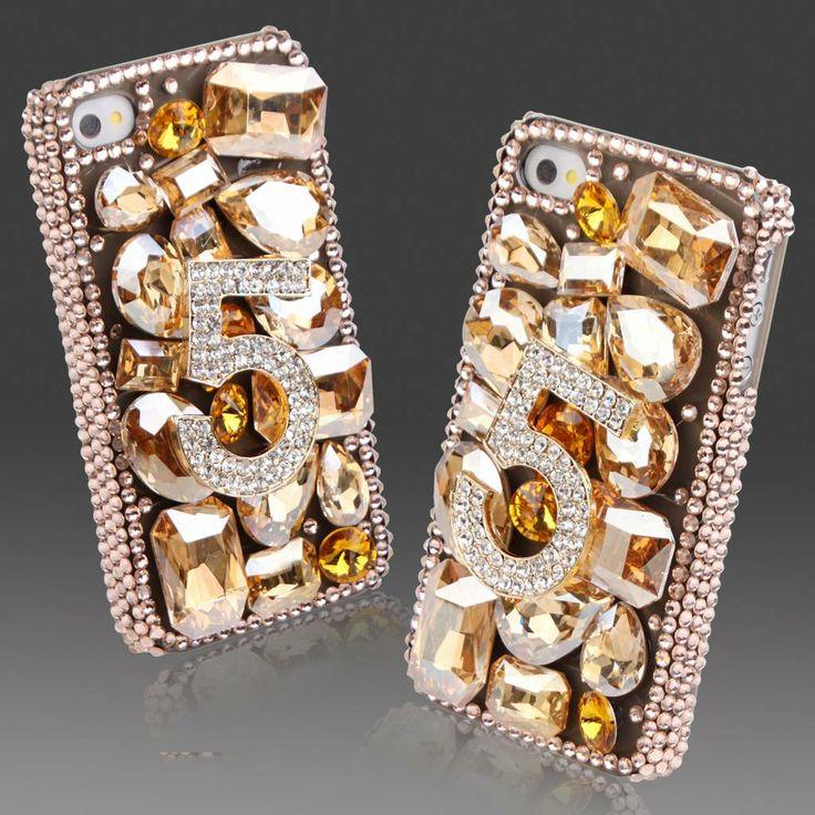Fantasy-in-Bling! Exclusieve phone case voor je Apple Iphone 5/5S