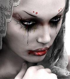 Epic angel of death makeup