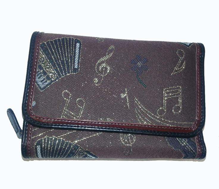 Portafogli da donna della linea Jacquard del noto marchio Fiorentino Braccialini_  PREZZO OUTLET