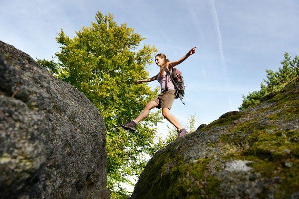 Den #Granit entdecken beim #Wandern im #Mühlviertel. Weitere Informationen zu #Wanderurlaub im Mühlviertel in #Österreich unter www.muehlviertel.at/wandern - ©Oberösterreich Tourismus/Röbl