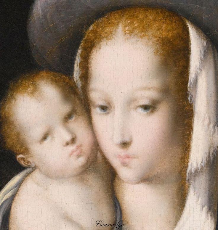 Печальный лик Мадонны... | Луис де Моралес (Luis de Morales, 1509-1586, Spanish artist), details \2\. Обсуждение на LiveInternet - Российский Сервис Онлайн-Дневников