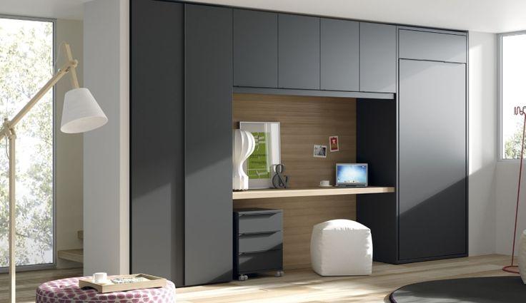 Dormitorio de invitados o dormitorio juvenil y despacho for Armarios para despachos