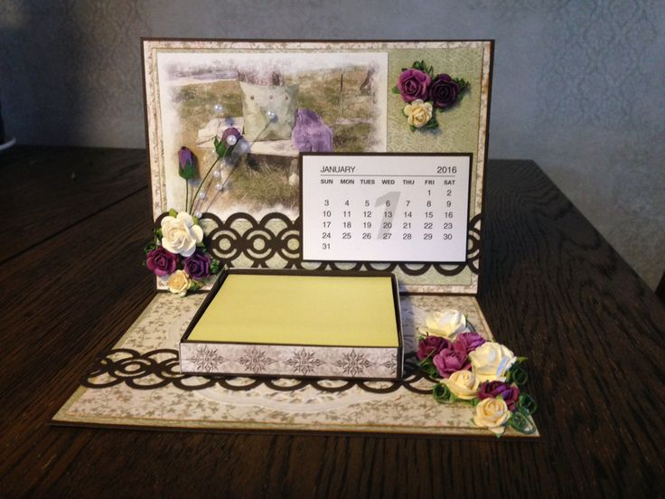 Kalender-og post-it-kort