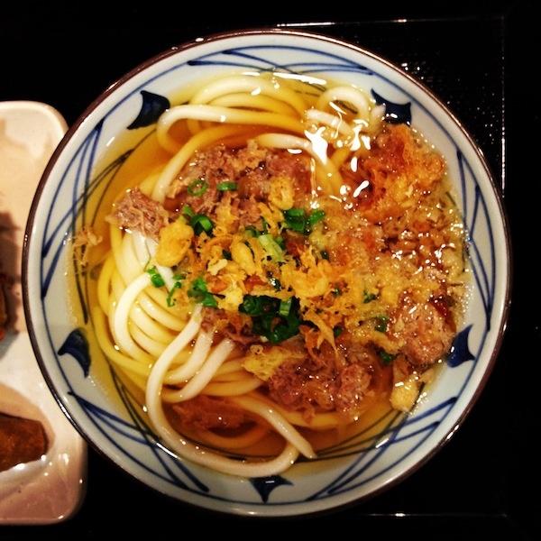 Marukame Udon - Niku Udon | Hawaiian Food | Pinterest