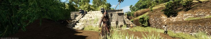 Assassin's Creed Liberation HD - Chichen Itza Mayan Ruins - Widescreen gaming @ 5760×1080 dvdbash.wordpress.com