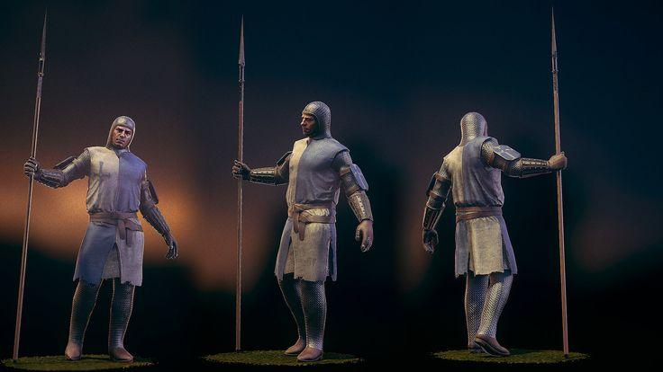 Chivalry: Medieval Warfare Vanguard Revamp, Dylan Brady on ArtStation at https://www.artstation.com/artwork/chivalry-medieval-warfare-vanguard-update