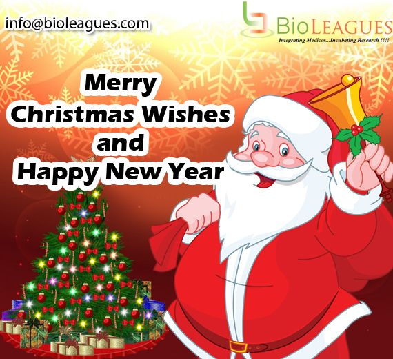 Bioleagues wishes all Merry Christmas and Prosperous New Year