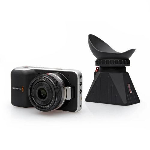 Zacuto USA : Shoot crystal clear video with the Blackmagic Pocket Camera Z-Finder from Zacuto