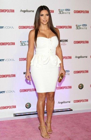 Kim Kardashian Photo - Kim Kardashian at Cosmo's Anniversary Party