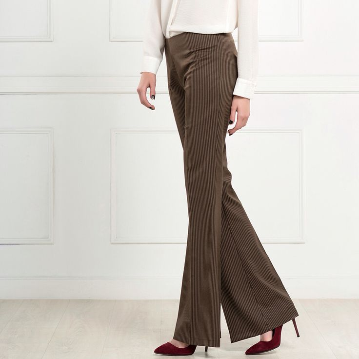 İspanyol Paça Kumaş Kahve Pantolon 59 TL Whatsapp 0539 260 88 90 www.fashionturca.com