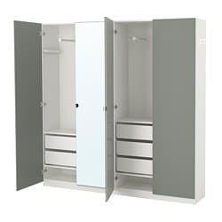 PAX, Armoirependerie, blanc, Reinsvoll Vikedal Ikea