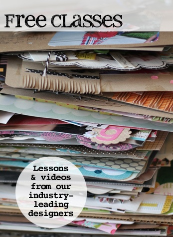 Many many free video classes from Two Peas Garden Girls/Instructors. Sure to inspire. #free #video #tutorial #classes #crafts #scrapbooking #stamping #papercraft