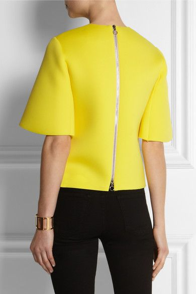 ROKSANDA ILINCIC Stretch-neoprene top