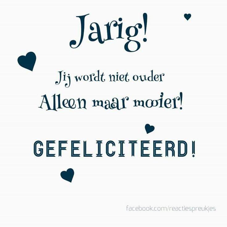 verjaardag vrouw nederlands