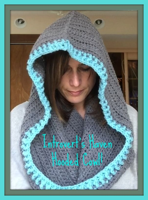 "Hooded Cowl with ""Hide-Away"" Hood"