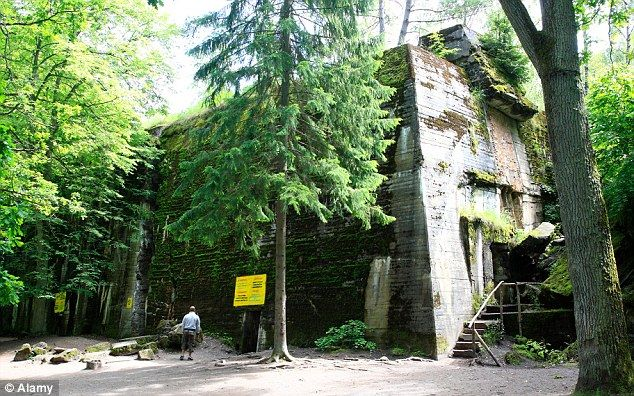Hitler's secret 'Wolf's Lair', set deep in the heart of a forest in north-eastern Poland