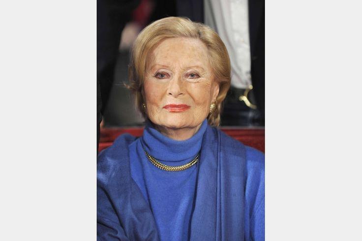 Michèle Morgan invitée sur le divan de Vivement Dimanche, en 2009