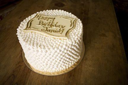Happy Birthday Cake.  Photo by Julia Gillard.