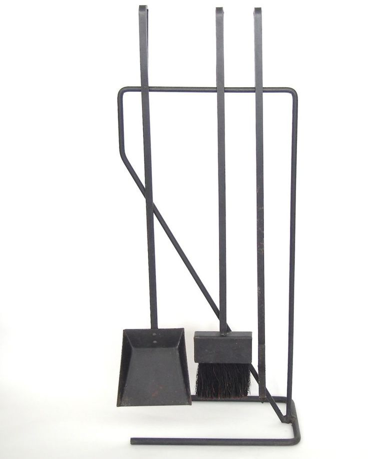 Mid-Century Modern Black Wrought Iron Fireplace Tools McCobb Pilgrim - 17 Best Ideas About Modern Fireplace Tools On Pinterest